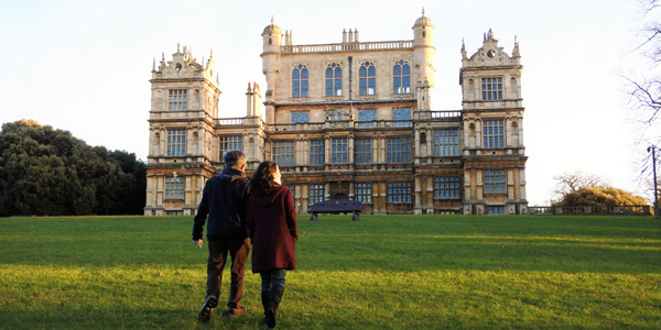 The famous Wollaton Hall