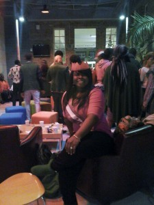 An evening get-together for West African students hosted by the International Office