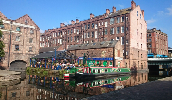 The Canalhouse bar - isn't it beautiful in there?