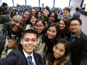 The University of Nottingham's Chevening scholars at the Chevening Orientation Day in London