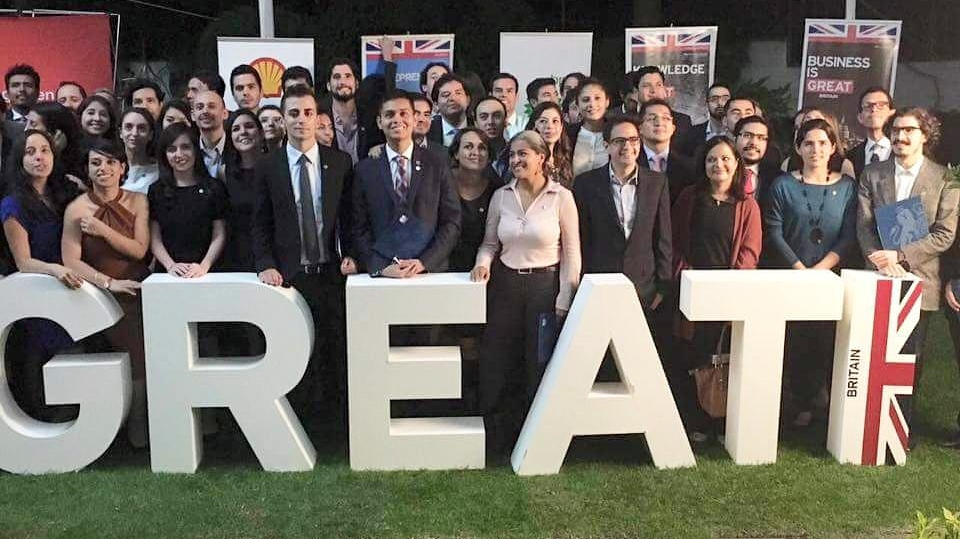 This year's Mexican Chevening Scholars meeting in Mexico before travelling to the UK