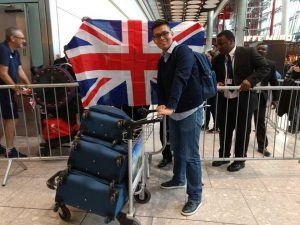 My #JourneyToUoN: arriving in the UK