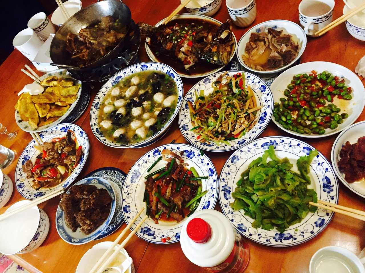 Traditional chinese new year food the for 8 cuisines of china