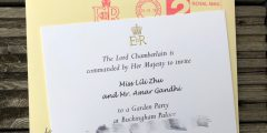 invitation to meet the queen