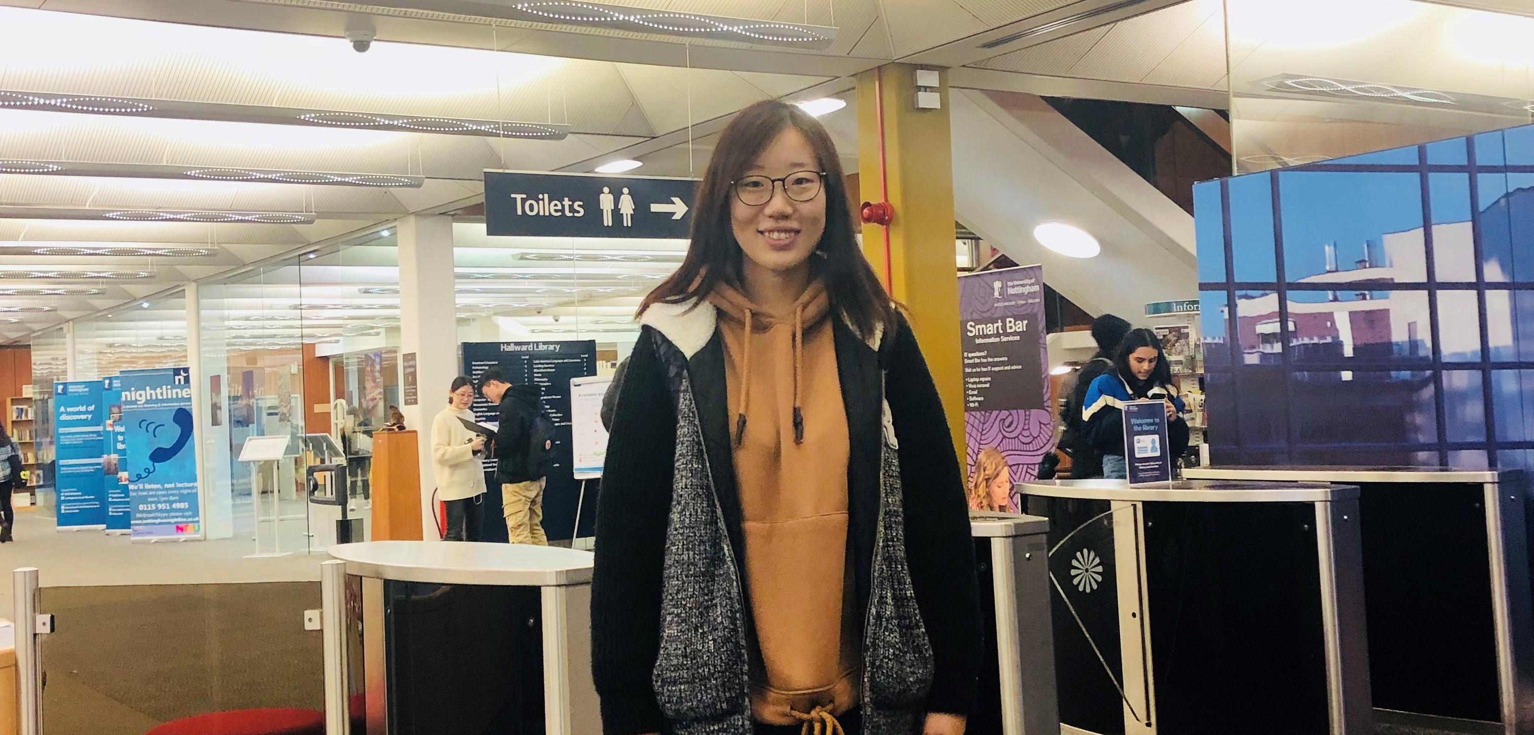 International Student Ambassadors: Jiaoyue from China