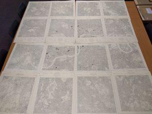 1:10 560 Ordnance Survey map of London (1947-56)