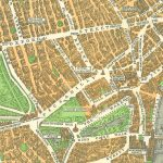 Detail from Geographia Pictorial Plan of London