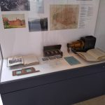 "Spaces of Internationalism exhibition cabinet display: ""Geography and Internationalism after 1918"""