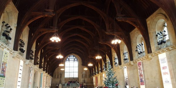 Westminster Hall, December 8th 2015