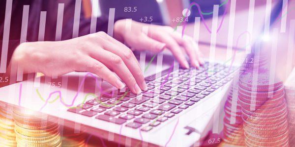 Hand Type Keyboard Finance