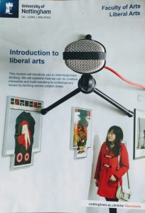 Introduction to Liberal Arts - our first year module