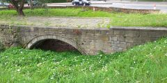 The remains of the medieval Trent Bridge