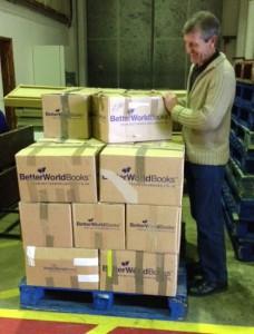 Packing for Better World books