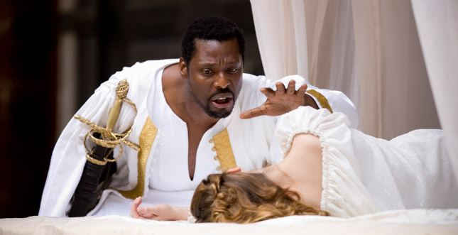 the virtue of desdemona in william shakespeares play the tragedy of othello Production of william shakespeare's othello the exercises  the more othello  trusts iago, the more he distrusts desdemona and cassio his jealousy begins.