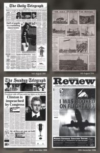 Telegraph covers