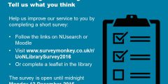 Library Survey 2016