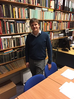 Dr Andrew Harrison biographer of D.H Lawrence