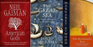 Three books titles