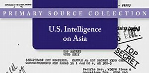 U.S. Intelligence on Asia
