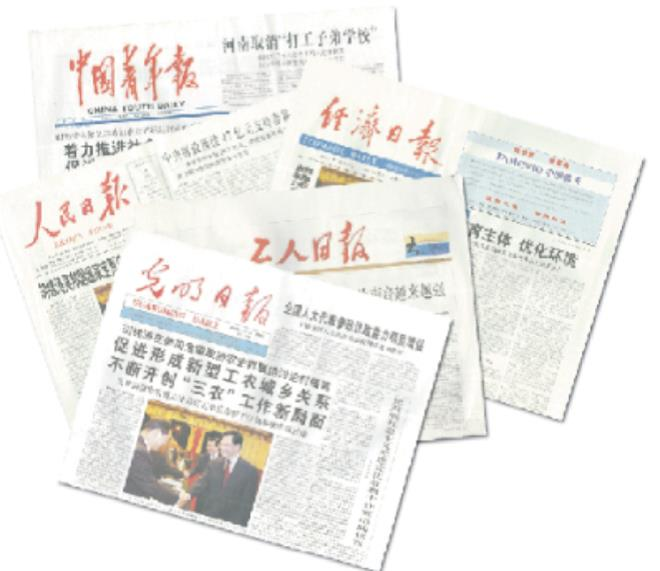 China core newspapers database