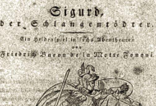 Sigurd: der Schlangentödter: ein heldenspiel in sechs Abentheueren: von Friedrich Baron de La Motte Fouquë
