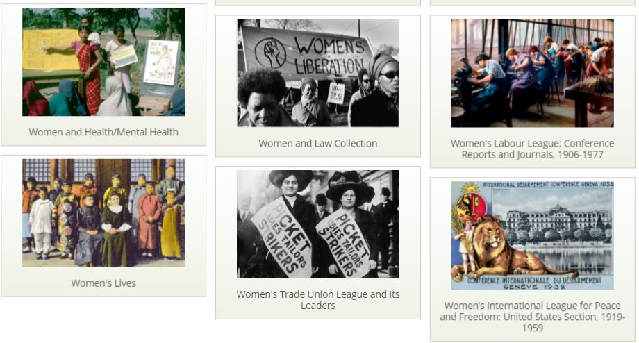 Women's Studies Archive Collections