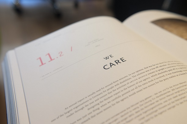 We care book image