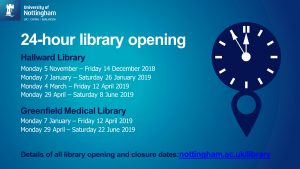 Library 24/7 2018/19