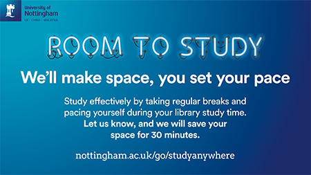 Room to Study flyer