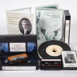 Collection of cassette and video tapes including DH Lawrence at the University of Nottingham and Gently Moving