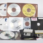 Collection of CDs and floppy discs held by Manuscripts and Special Collections