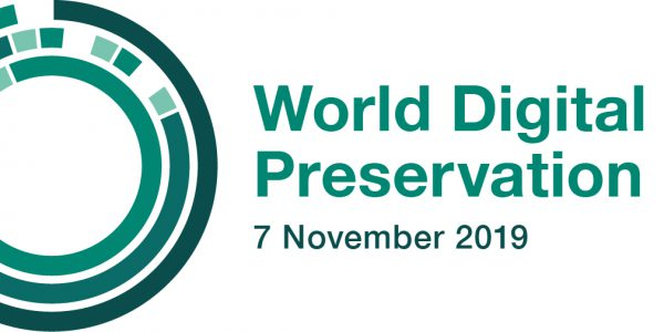 World Digital Preservation Day logo. 7 November 2019.