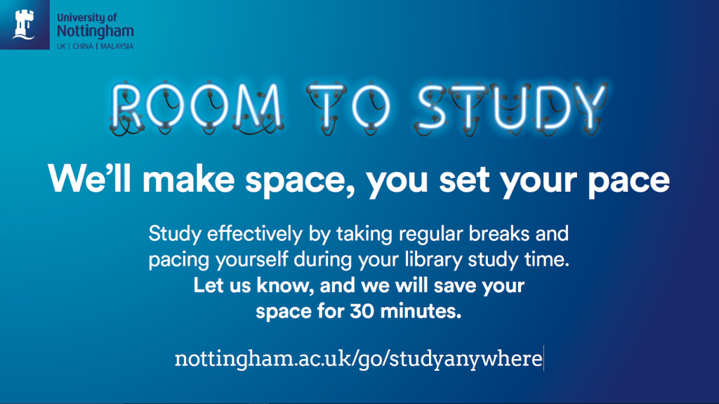 Room to Study leaflet
