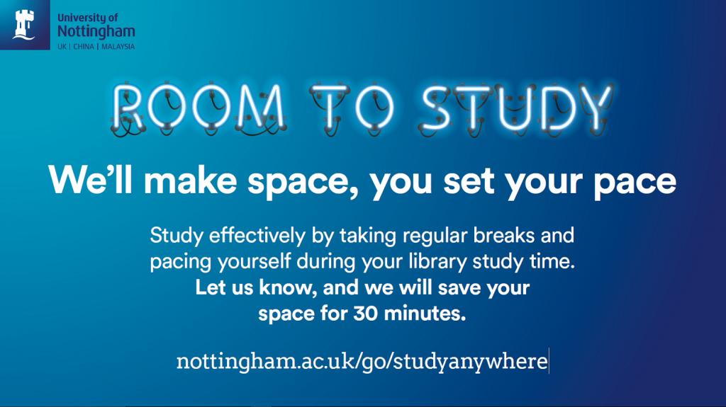 Room to Study leaflet