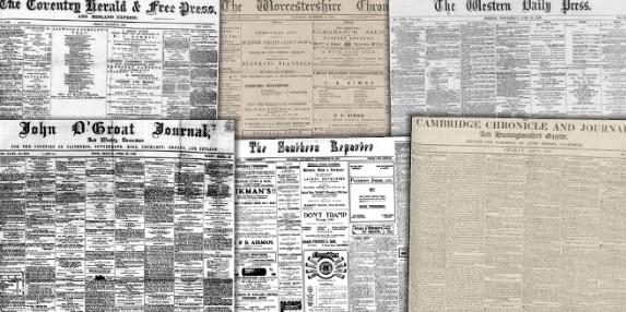 Regional journals in the BL newspaper collection