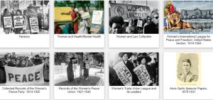 Women's Studies Archive colections