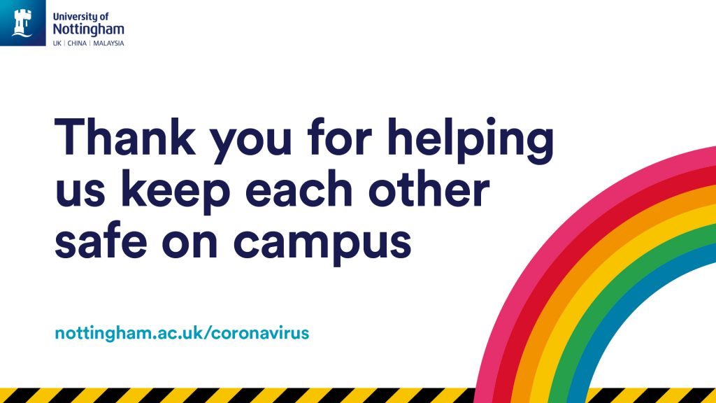 Thank you for helping us keep each other safe on campus