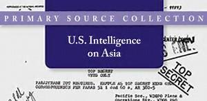U.S. Intelligence on Asia