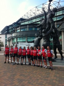 LC3 team at Twickenham
