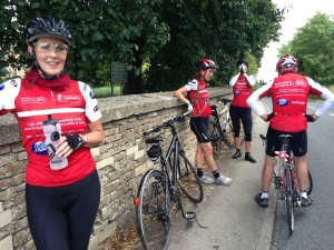 Marion coping with steep hills