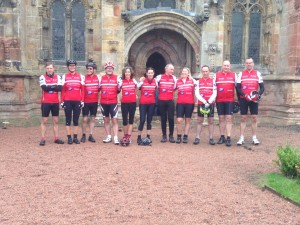 The team at Rosslyn Chapel
