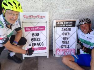 Bike chaos