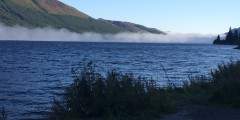 Mist over Loch Lochy