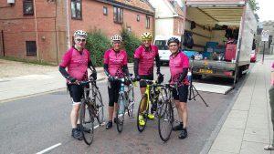 Nottingham Life Cycle 6 Team - Steve Kate Peter John