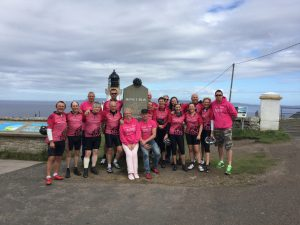 The Life cycle 6 team at Dunnet Head