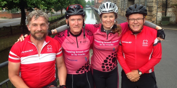 Team life sciences join the Nottingham Life Cycle 6 riders - 600x300