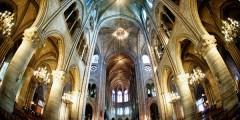 Interior Notre Dame - Paris