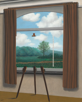 Rene Magritte: La Condition Humaine (Washington: National Gallery of Art)