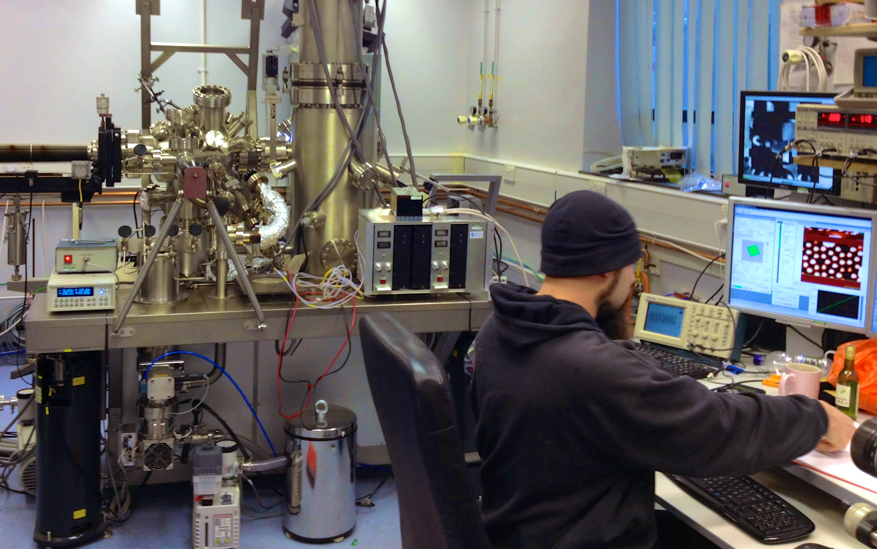 In the nano lab