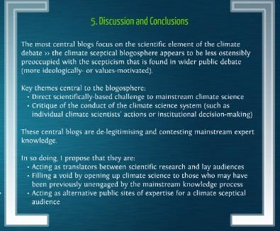 Amelia Sharman conclusions